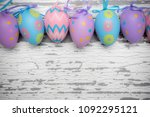 a group of pastel colored...   Shutterstock . vector #1092295121