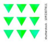 vector gradient reverse... | Shutterstock .eps vector #1092307811