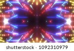 abstract shiny multicolored... | Shutterstock . vector #1092310979