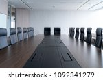 multi person meeting room and... | Shutterstock . vector #1092341279
