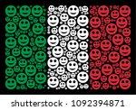 italian state flag flat concept ... | Shutterstock .eps vector #1092394871