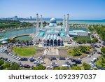 aerial view of kota kinabalu... | Shutterstock . vector #1092397037