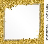 glittering background with... | Shutterstock . vector #1092414389