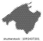 abstract spain mallorca island... | Shutterstock .eps vector #1092437201