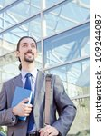 young businessman on the street | Shutterstock . vector #109244087
