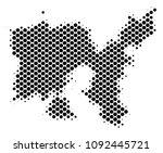 abstract limnos greek island... | Shutterstock .eps vector #1092445721