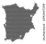 abstract koh samui map. vector... | Shutterstock .eps vector #1092447209