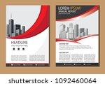 business abstract vector... | Shutterstock .eps vector #1092460064