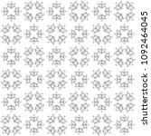 seamless abstract black texture ... | Shutterstock . vector #1092464045