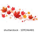 Orange And Red Fall Design...