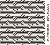 vector seamless pattern with... | Shutterstock .eps vector #1092502301