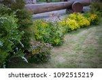 landscape design near the house | Shutterstock . vector #1092515219