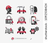 set of user interface icons...
