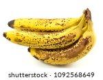 ripe yellow bananas fruits ...   Shutterstock . vector #1092568649