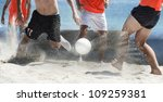 Team Beach Soccer  Playing