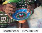 kolkata  november 26  an indian ... | Shutterstock . vector #1092609329
