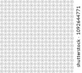 seamless abstract black texture ... | Shutterstock . vector #1092644771