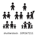 icons set people over white... | Shutterstock .eps vector #109267211