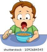 illustration of a kid boy... | Shutterstock .eps vector #1092684545