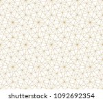 modern abstract geometric... | Shutterstock .eps vector #1092692354