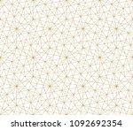 modern abstract geometric... | Shutterstock .eps vector #1092692354