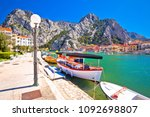 cetina river mouth intown of...   Shutterstock . vector #1092698807