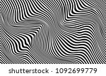 illusion of stripes  background ... | Shutterstock .eps vector #1092699779