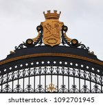 detail of the beautiful fence... | Shutterstock . vector #1092701945