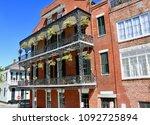french quarter stroll  new...   Shutterstock . vector #1092725894