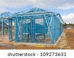 new home under construction...   Shutterstock . vector #109273631