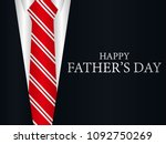 happy father's day greeting...   Shutterstock .eps vector #1092750269