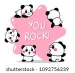 vector illustration of lovely...   Shutterstock .eps vector #1092756239
