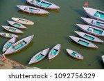 varanasi india  ganges jan 22 ...   Shutterstock . vector #1092756329