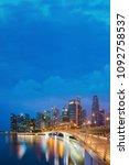 Singapore Cityscape Dusk Landscape Singapore - Fine Art prints