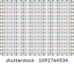 abstract texture   colored... | Shutterstock . vector #1092764534