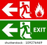 Emergency Fire Exit Door And...