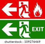Emergency Fire Exit Door And...