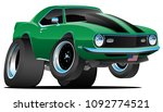 classic sixties style american... | Shutterstock .eps vector #1092774521