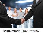 handshake of business partners... | Shutterstock . vector #1092794357
