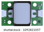 fingerprint sensor module... | Shutterstock . vector #1092821057