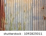 abstract corroded colorful... | Shutterstock . vector #1092825011