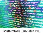 website design. screen of web... | Shutterstock . vector #1092836441