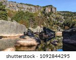 laguna negra  glacial lake in... | Shutterstock . vector #1092844295