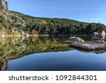 laguna negra  glacial lake in... | Shutterstock . vector #1092844301