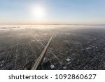 los angeles coastal afternoon... | Shutterstock . vector #1092860627