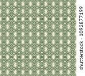 green geometric pattern in... | Shutterstock . vector #1092877199