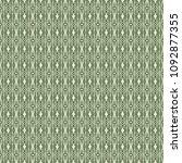 green geometric pattern in... | Shutterstock . vector #1092877355