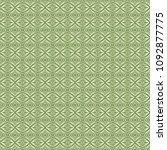 green geometric pattern in... | Shutterstock . vector #1092877775