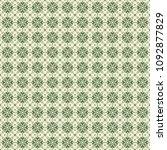 green geometric pattern in... | Shutterstock . vector #1092877829