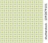 green geometric pattern in... | Shutterstock . vector #1092879101